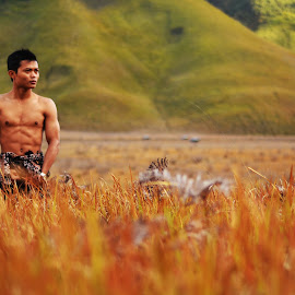 body and nature by Bung Gebe - People Portraits of Men
