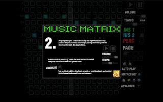 Screenshot of Music Matrix