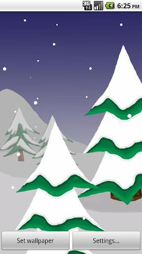 Snow Live Wallpaper Pro