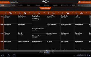 Screenshot of GVTTV