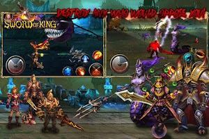 Screenshot of Sword of King : Excalibur