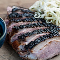 Barbecued honey Gressingham duck breast