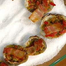 Emeril's Pimento and Bacon Clams