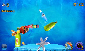 Screenshot of Bottle Shuriken