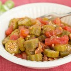 Stewed Tomato and Okra