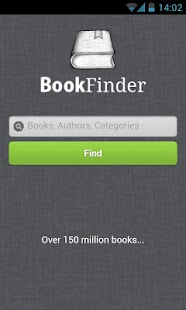 Book Finder - screenshot