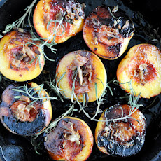 Sugar Roasted Peaches