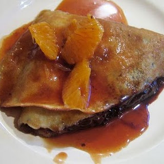 Chocolate Clementine and Amaretto Suzette