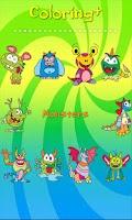 Screenshot of Coloring Book Coloring+