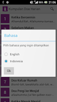 Screenshot of Doa Harian Islam