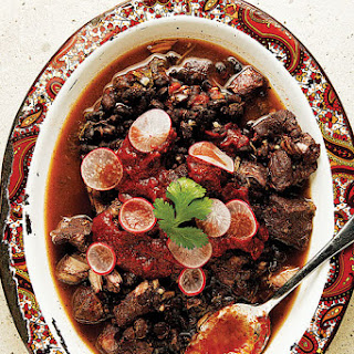 Frijol con Puerco (Pork and Black Bean Stew)