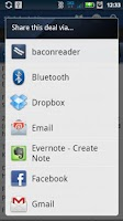 Screenshot of SlickDeals Reader Lite