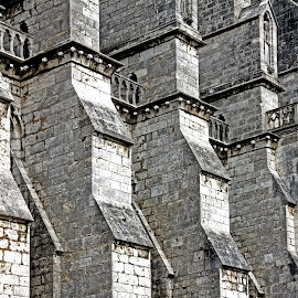 Cathedral butresses by Michael Moore - Buildings & Architecture Other Exteriors (  )