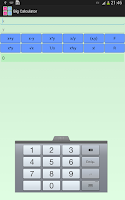 Screenshot of Big Calculator