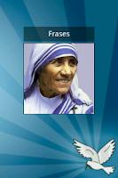 Screenshot of Frases de la Madre Teresa
