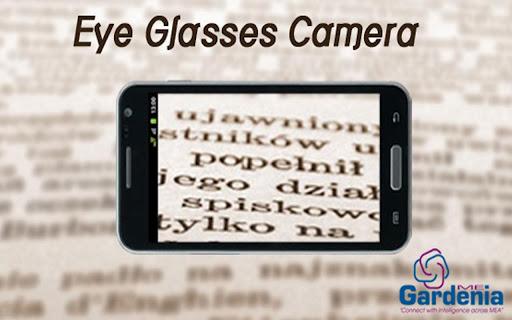 Eyeglasses Camera