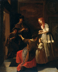 RIJKS: Jacob Ochtervelt: painting 1682