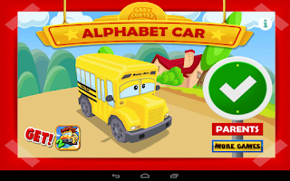 Screenshot of Alphabet Car