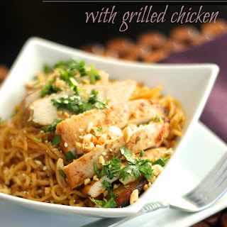 Grilled Chicken Noodles Recipes