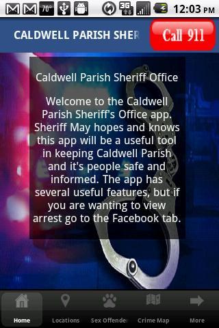 Caldwell Parish Sheriff Dept