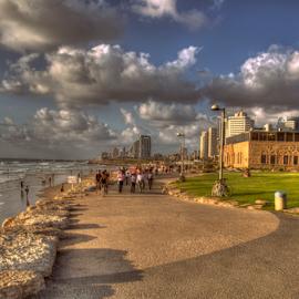 Tel Aviv by Yuval Shlomo - City,  Street & Park  City Parks