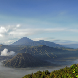 Bromo Mountain by Nuno Raditya - Landscapes Mountains & Hills