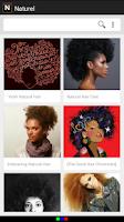 Screenshot of Naturel: Natural Hair Images