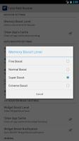 Screenshot of Total RAM Booster Free
