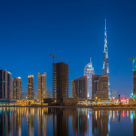 The Towering Burj Khalifa by Andy Arciga - Buildings & Architecture Office Buildings & Hotels