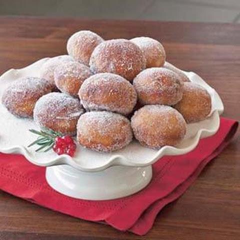 Strawberry Jam Vanilla Cream Doughnuts With Sugar Glaze Recipe ...