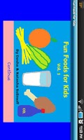 Screenshot of Fun Foods for Kids (Vol. 1)