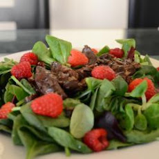 Chicken Liver And Raspberry Salad