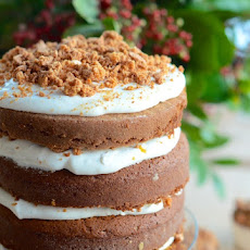 Pumpkin Tiramisu Layer Cake