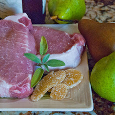 Pork with Pear Sauce