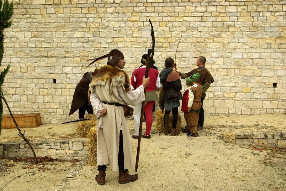 Fête médiévale à Cruas (Ardèche) - …et il n'a pas l'air commode le bougre !