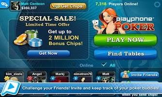 Screenshot of Poker LIVE!
