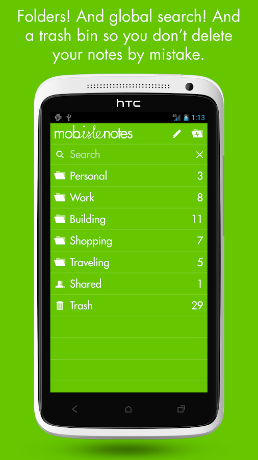 MobisleNotes - Notepad Screenshot 8
