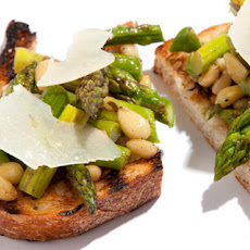 Grilled Asparagus Bruschetta Recipe