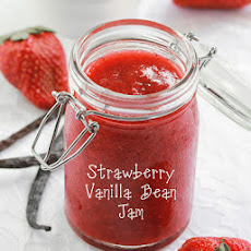 Small Batch Strawberry Vanilla Bean Jam