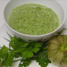 Super Bowl Tomatillo Salsa Verde