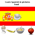 Spanish in Pictures : Food icon