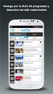 vuQio - Guia TV y Social TV - screenshot