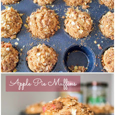 Sky-High Apple Pie Muffins