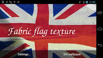 Screenshot of 3D UK Flag Live Wallpaper