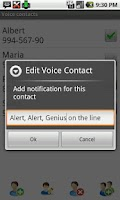Screenshot of Voice Full Screen Caller ID Li