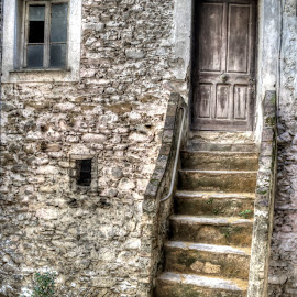 Old. by Roberta Sala - City,  Street & Park  Street Scenes ( dolceacqua, old, hdr, street, dolceac, italy, street photography )
