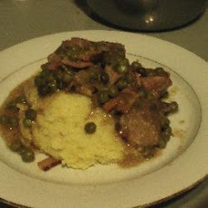 Bacon and Veal Neck Casserole