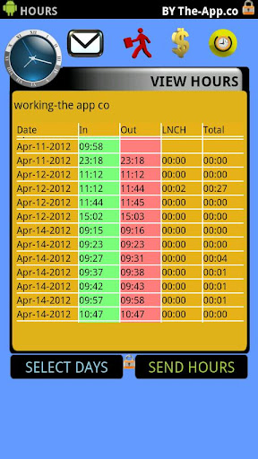 【免費商業App】.Hours - Time Clock/Card Pro-APP點子