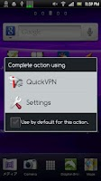Screenshot of QuickVPN