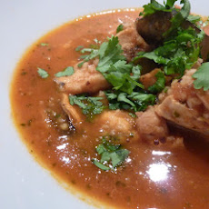 Moroccan Inspired Fish Soup